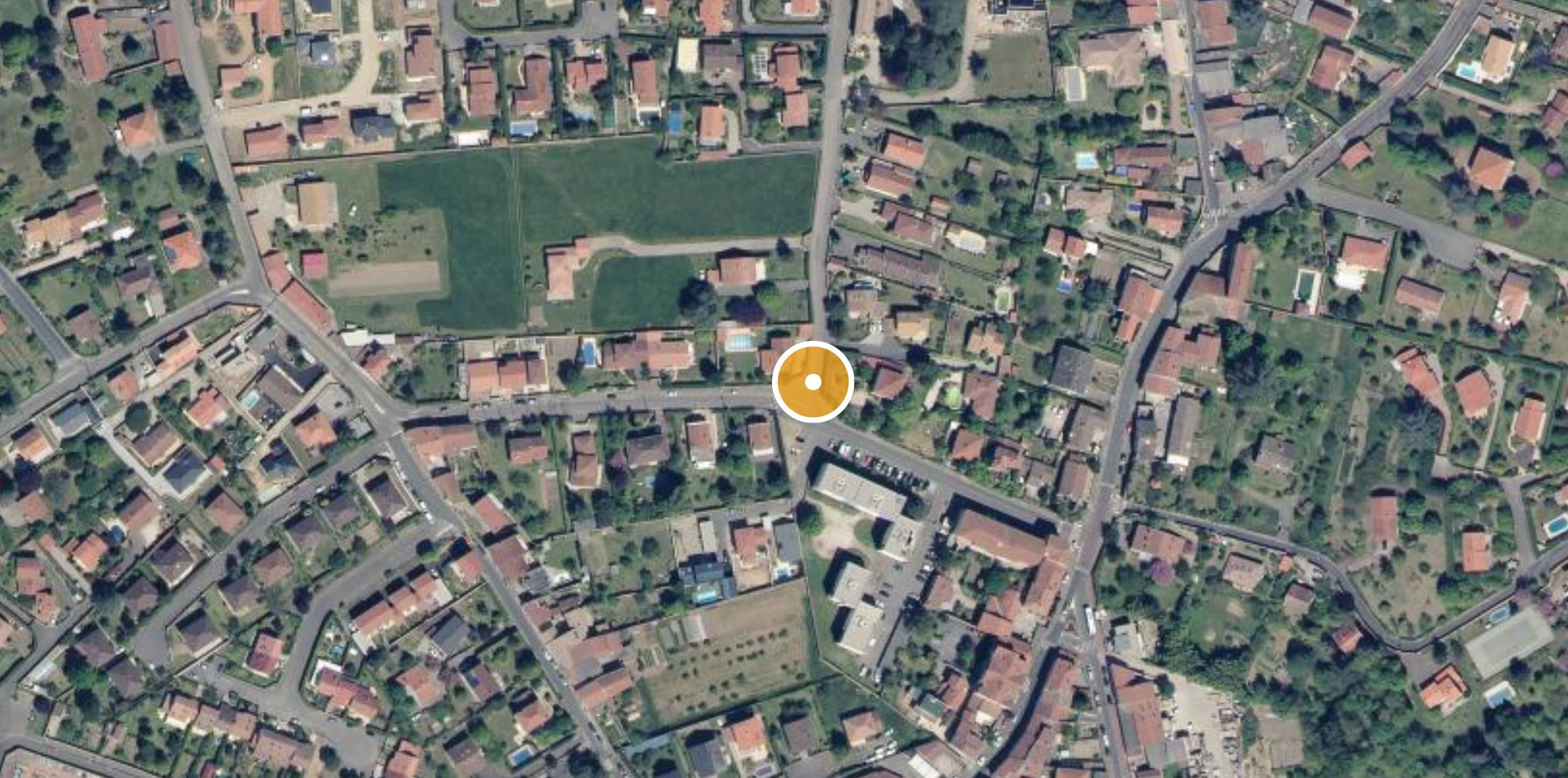 Localisation Irigny
