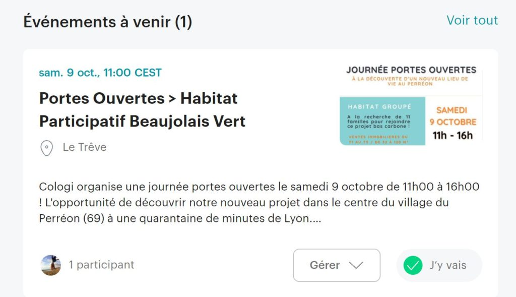 Meetup Cologi - Habitats partagés